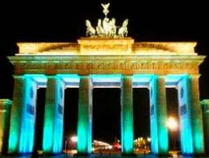 our illumination for the Brandenburg Gate