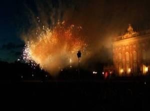 Konzert & Feuerwerksfinale mit  Semperoper