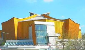 Home of the Temple of Music: Berliner Philharmonie (Foto by Manfred Brückels)