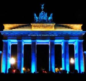 Unsere Technik fürs Brandenburger Tor