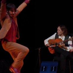 mit Tänzer Dani Navarro